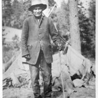 Indians -- Portraits -- Curly Jim -- Spokane Indian (#02)