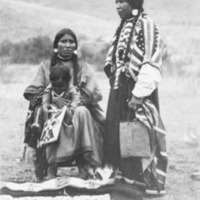 """Indians -- Portraits -- Andrews, Willie """"Red Star"""" (#02)"""