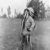 Indians -- Portraits -- Andrews, Willie -- Spokane Indian (#01)