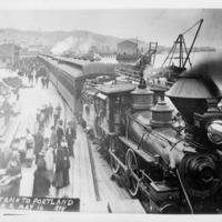 Northwest -- Railroads -- Locomotives (#06)