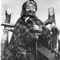 Indians -- Portraits -- Angeline -- Suquamish Indian (#06)