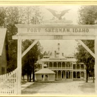 Northwest -- Forts and blockhouses -- Idaho -- Fort Sherman (#03)