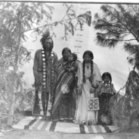 """Indians -- Portraits -- Andrews, Willie """"Red Star"""" (#03)"""