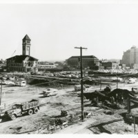 Spokane -- Expo '74 -- Construction (#15)