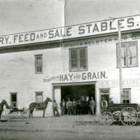 Spokane -- Livery Stables (#01)