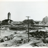 Spokane -- Expo '74 -- Construction (#18)