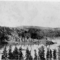 Spokane River (Folder 1,  #40)