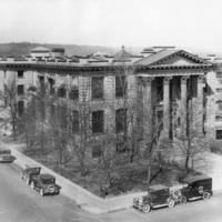 Spokane -- Libraries -- SPL -- Carnegie Library -- Exterior Views (#09)