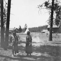 Indians -- Portraits -- Andrews, Willie -- Spokane Indian (#04)
