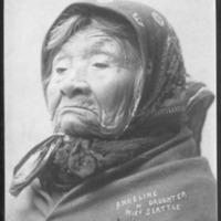 Indians -- Portraits -- Angeline -- Suquamish Indian (#01)