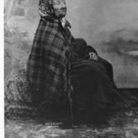 Indians -- Portraits -- Angeline -- Suquamish Indian (#05)