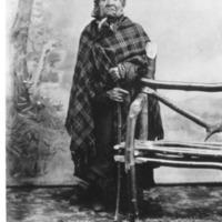Indians -- Portraits -- Angeline -- Suquamish Indian (#08)