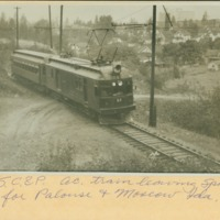 Spokane -- Railroads -- Electric (#08)
